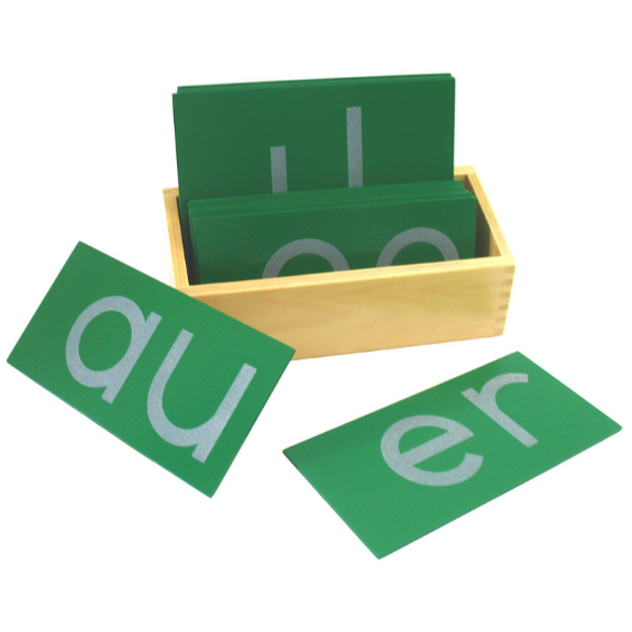 Sandpaper Letters, Lowercase Print Double, with Box