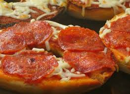 Friday 10 August - Pepperoni Pizza Bagels
