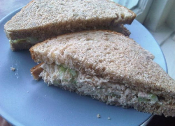 Thursday 9 August  - Tuna Salad Sandwich/Veggie Straws