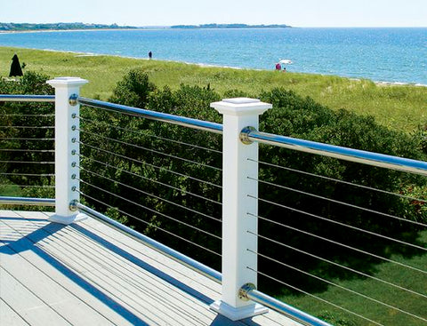 Cable railing project deck