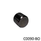 Black Oxide Round End Cap for Jam Nut (C0090-BO) - SHEMONICO Cable Railing