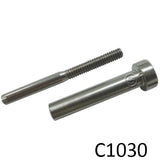 Stainless Steel Invisi Stud & Receiver (C1030) - SHEMONICO Cable Railing
