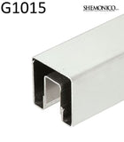 Stainless steel cap rail for glass rail 10 ft (G1015) - SHEMONICO