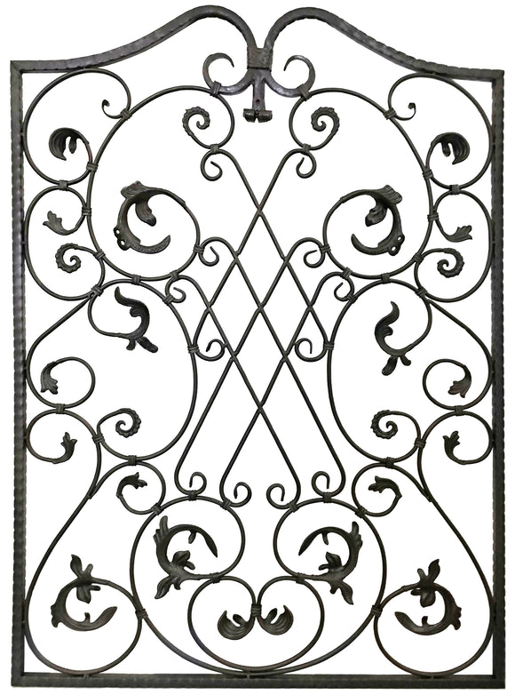 Decorative Ornamental Panel Fence 56