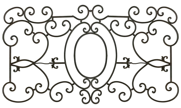 Decorative Ornamental Panel Fence 60