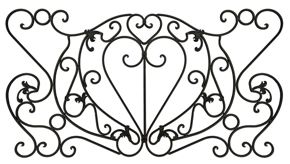 Decorative Ornamental Panel Fence 59