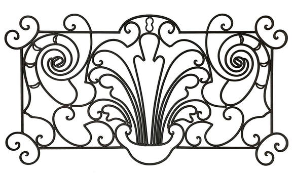 Decorative Ornamental Panel Fence 59.5