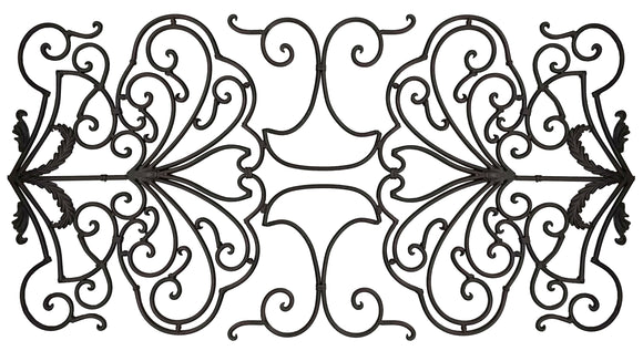 Decorative Ornamental Panel Fence 61