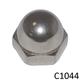 Dome Acorn Nut (C1044) - SHEMONICO Cable Railing
