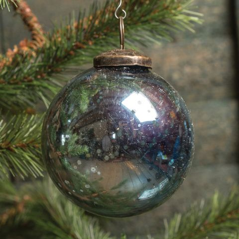 "3"" Kugel Glass Ornaments"