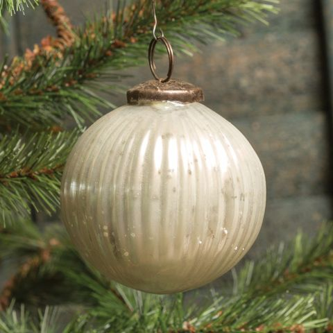 "3"" Ribbed Kugel Ornament"