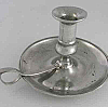 ASL Pewter Bowl Base Chamberstick