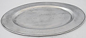 ASL Pewter Large Oval Serving Tray