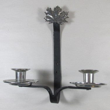 ASL Pewter & Iron Wall Sconce