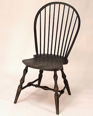 Bow Back Side Windsor Chair