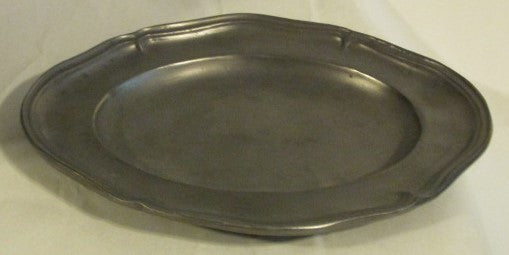 ASL Pewter Queen Anne Oval