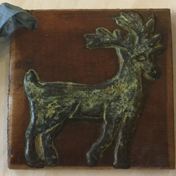 Deer on Old Barn Wood -- now $5 -- save more than 80%