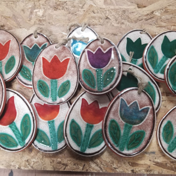 Tulip Ornaments