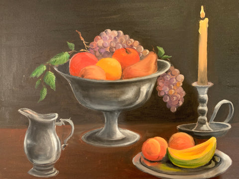 Still Life -- Original Art By Susan Dwyer Leach