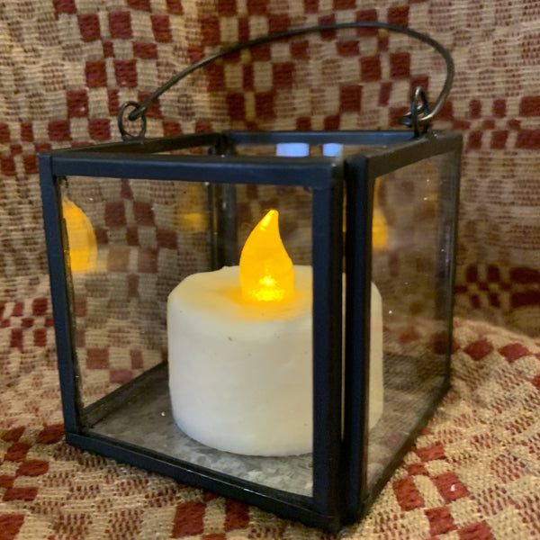 Black Votive Lantern - Set of 5 - Save 90%