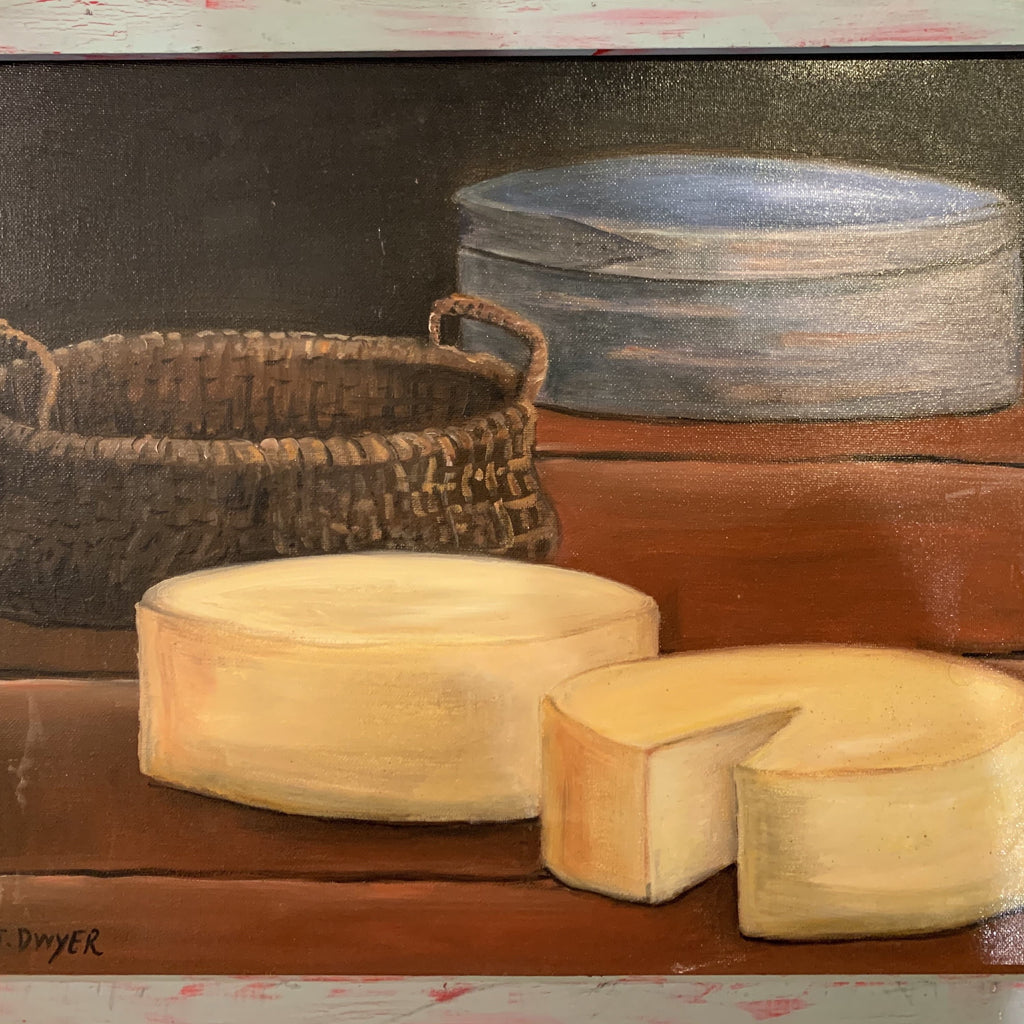 Cheese -- Original Art By Susan Dwyer Leach