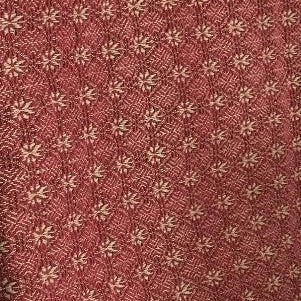 Packsville Rose Runner:  Cranberry and Tan