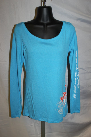 Ladies Side Moto Long Sleeve