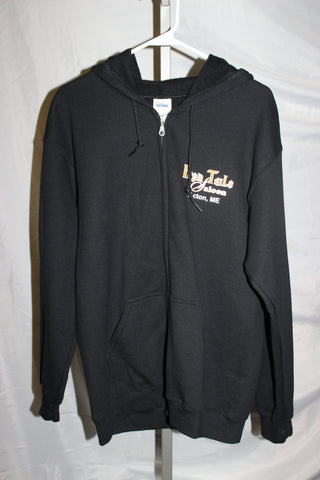 Ladies Iron Tails Zip Up Hoodie