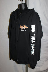 Iron Tails Zip Up Hoodie
