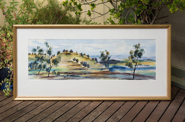 Painting (large) - Sunny morning, Kangaroo Ground