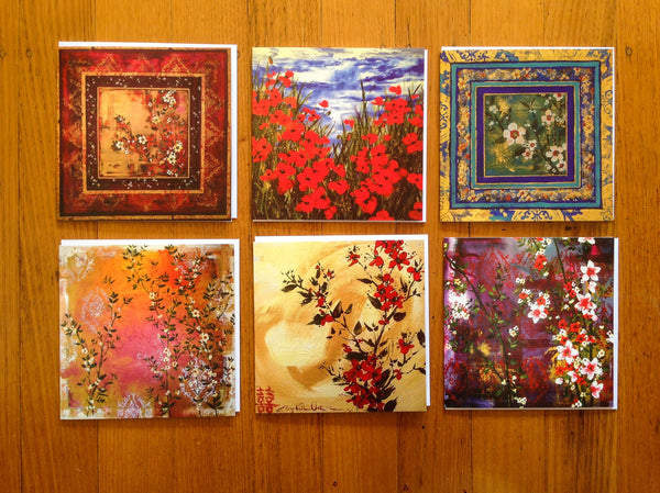 A Card Collection Square Lush