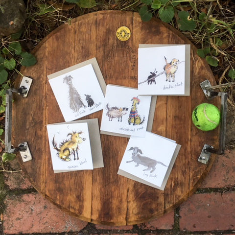 A Card Collection Coffee Dogs