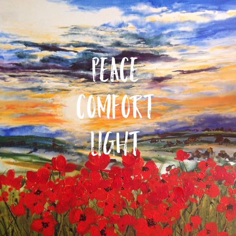 Card (Thinking of You Collection) - Peace Comfort Light