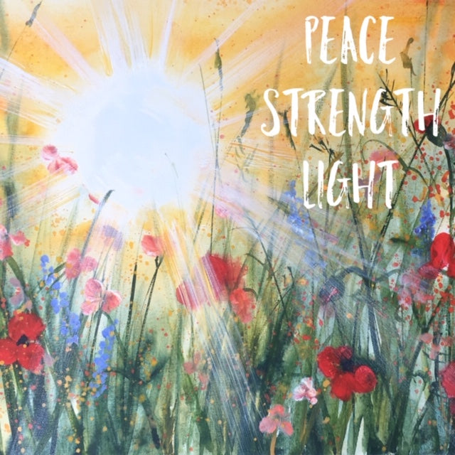 Card (Thinking of You Collection) - Peace Strength Light