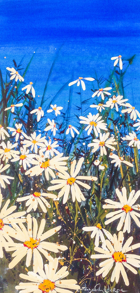 Painting mix & match small collection - Daisy field
