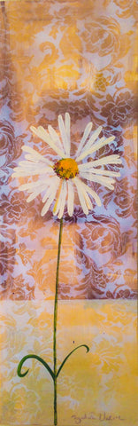 Painting mix & match collection - Daisy with leaf curl and lace