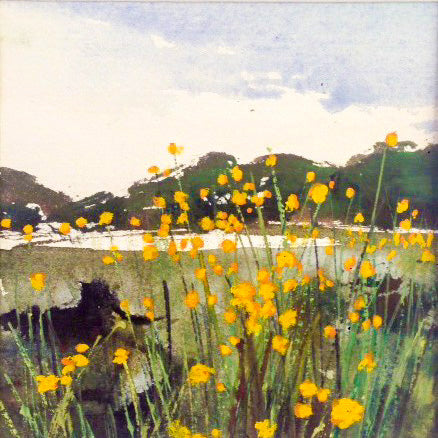 Card (Australian landscape collection) - Summer Wildflowers