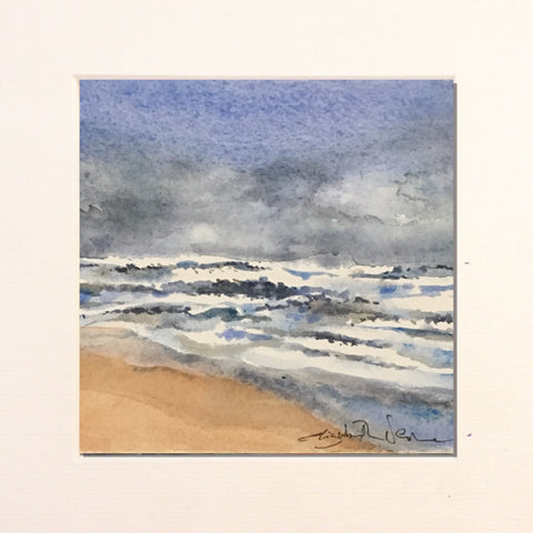 Painting - wee winter seascape