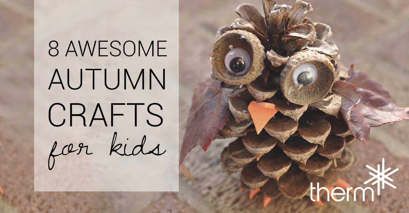8 Awesome Autumn Crafts for Kids