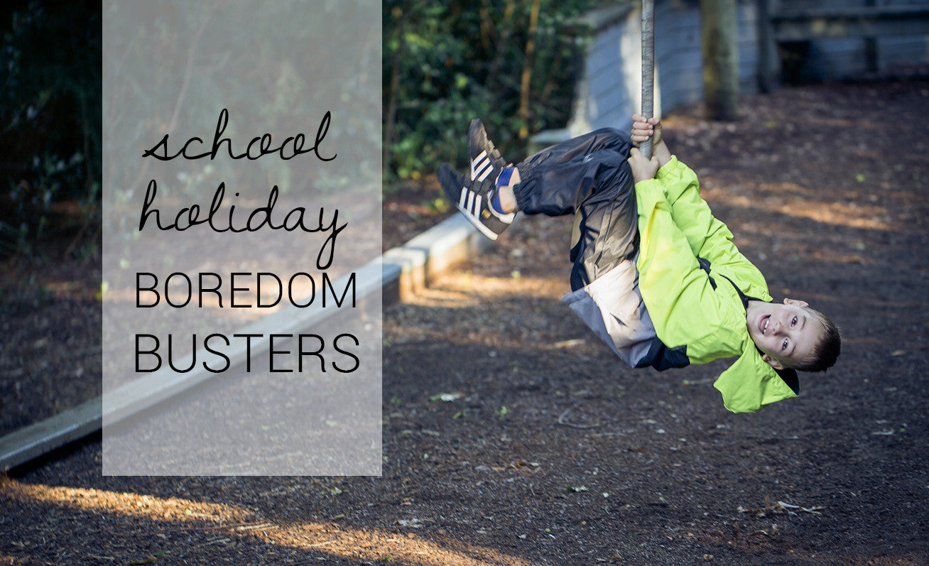 10 Fun Activities to do Outside during the School Holidays