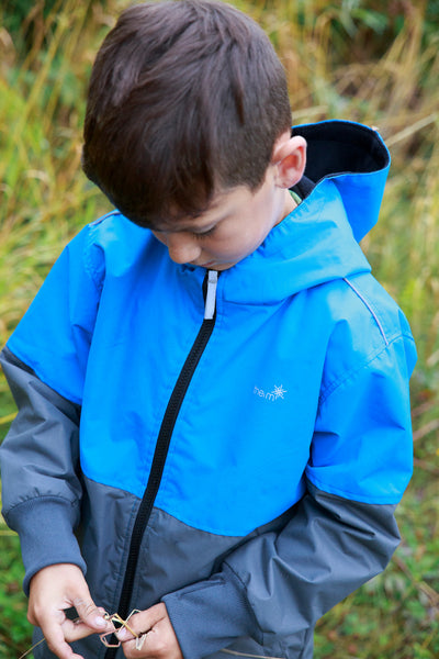 Magic Pattern Rain Jacket Waterproof