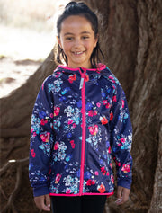 All-Weather Hoodie - Floral Bloom | Waterproof Windproof Eco