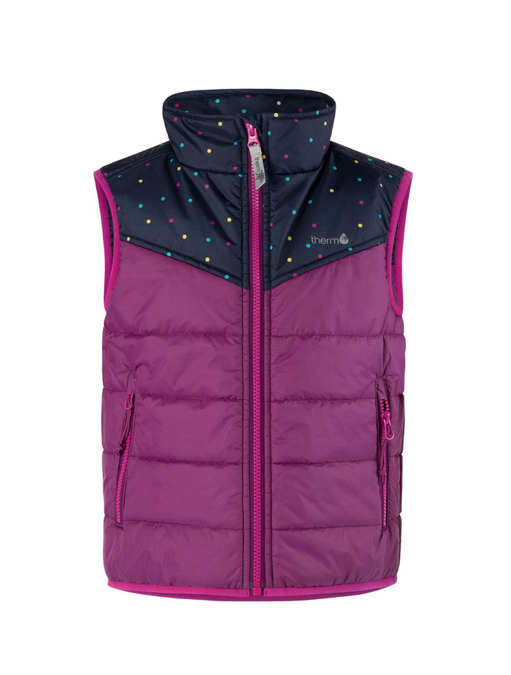 Hydracloud Puffer Vest - Deep Violet | Waterproof Windproof Eco