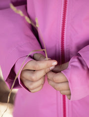SplashMagic Storm Jacket - Sorbet Pink | Waterproof Windproof Eco