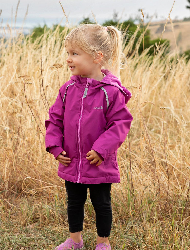 SplashMagic Storm Jacket - Wildberry | Waterproof Windproof Eco