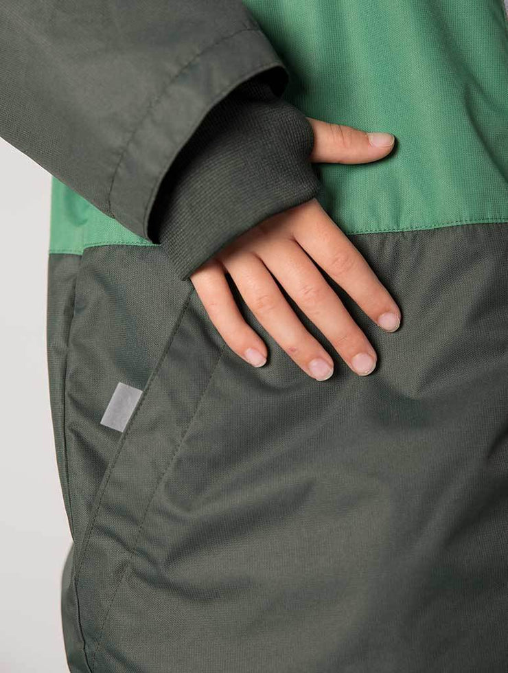 Waterproof & Windproof SplashMagic Storm Jacket - Army Green
