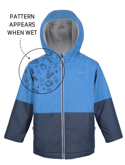 Waterproof & Windproof SplashMagic Storm Jacket - Marine Blue