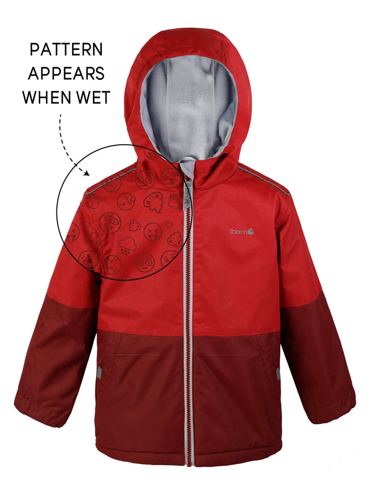 Waterproof & Windproof SplashMagic Storm Jacket - Samba Red