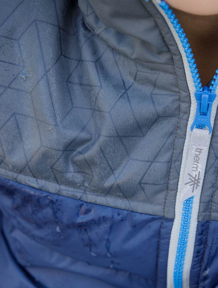 Waterproof and Windproof Hydracloud Puffer Jacket - Navy