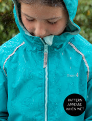 SplashMagic Storm Jacket - Ocean | Waterproof Windproof Eco